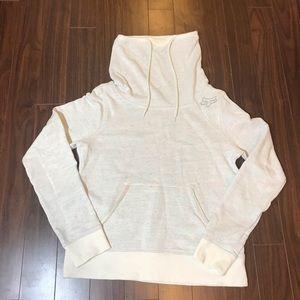 Fox tube neck sweatshirt sz L